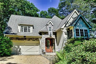 Blowing Rock Single Family Home Active Under Contract: 117 Fairway 11 Court