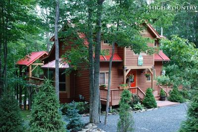 Beech Mountain Single Family Home Under Contract - Show: 104 Overbrook Knoll