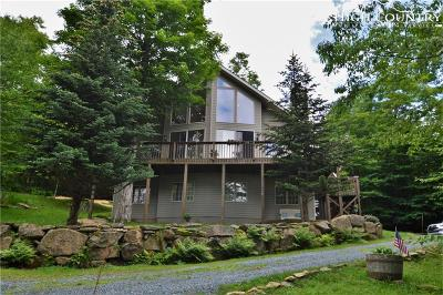 Beech Mountain Single Family Home For Sale: 129 Spruce Hollow Road