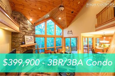 Avery County Condo/Townhouse For Sale: 89 Springhouse Drive #A2
