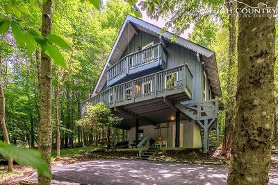 Beech Mountain Single Family Home Under Contract - Show: 119 Overbrook Trail
