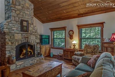Blowing Rock Single Family Home For Sale: 201 Chestnut Drive