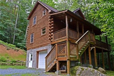 Beech Mountain Single Family Home Active Under Contract: 1461 Pine Ridge Road