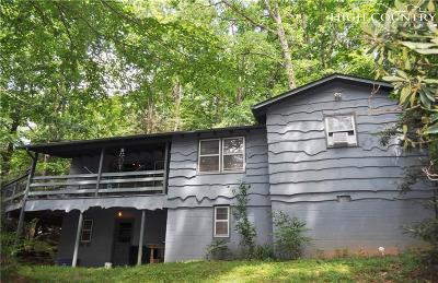 Boone Single Family Home Under Contract - Don't Show: 601 Green Briar Road
