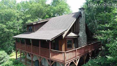 Blowing Rock Single Family Home Under Contract - Show: 6607 Mountain View Road
