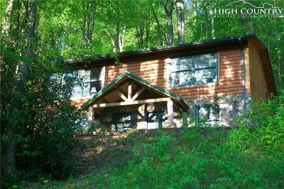Boone NC Single Family Home For Sale: $275,000
