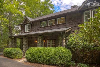 Blowing Rock Single Family Home For Sale: 1041 Green Hill Road