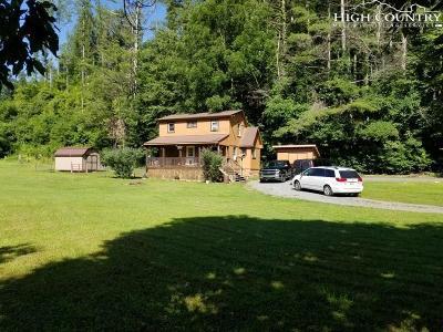 Deep Gap Single Family Home For Sale: 125 Elk Lane