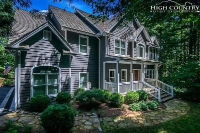 Blowing Rock Single Family Home For Sale: 255 High Ridge Lane