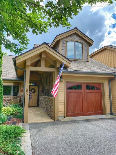 Banner Elk Condo/Townhouse For Sale: 186 Bear Cub Lane