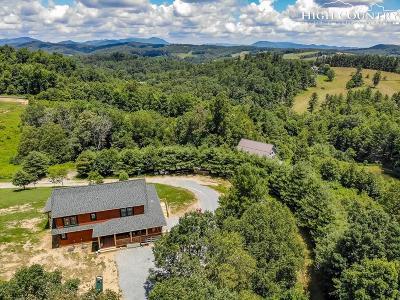 Watauga County Single Family Home For Sale: 200 Nit Noi Row