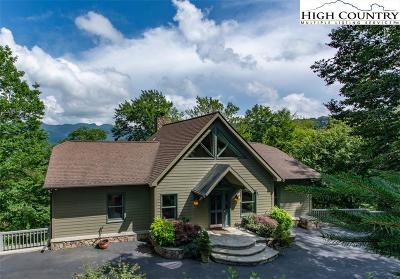 Sugar Mountain Single Family Home For Sale: 274 Highland Circle