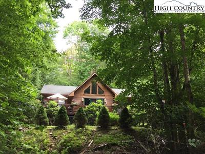 Beech Mountain Single Family Home For Sale: 251 Greenbriar Road