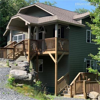 Beech Mountain Single Family Home For Sale: 134 Wintergreen Way Road