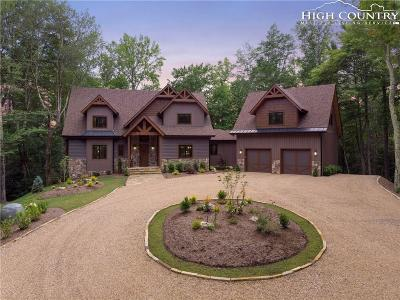 Banner Elk Single Family Home For Sale: 170 Fire Fly Cove