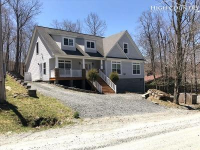 Beech Mountain Single Family Home For Sale: 904 Charter Hills Road