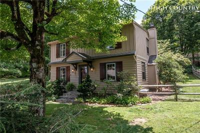 Blowing Rock Single Family Home Under Contract - Show: 164 Chestnut Drive
