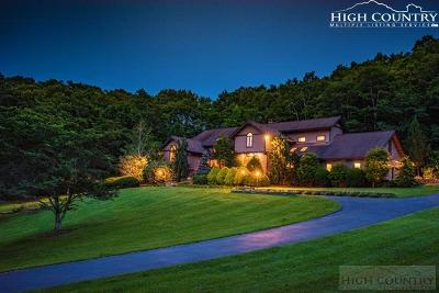 Blowing Rock Single Family Home For Sale: 251 Laurel Chase