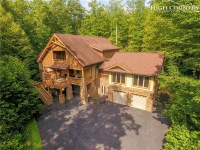 Boone NC Single Family Home For Sale: $1,475,000