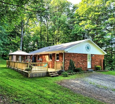West Jefferson Single Family Home Under Contract - Show: 347 Mount Jefferson State Park Road