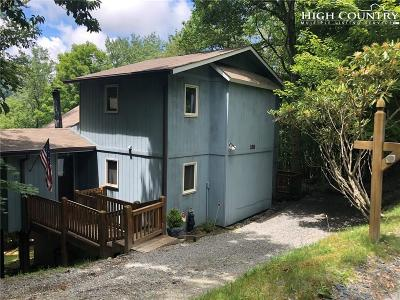 Beech Mountain NC Single Family Home For Sale: $225,000