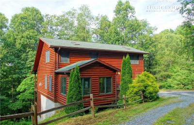 Boone NC Single Family Home For Sale: $449,900
