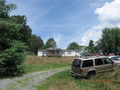 Deep Gap Single Family Home For Sale: 288 H Stanley Miller Road