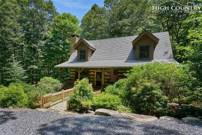 Blowing Rock Single Family Home For Sale: 8556 Dancing Bear Lane