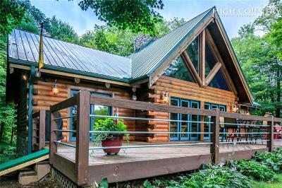 Single Family Home For Sale: 2137/2139 Little Laurel Road