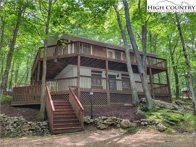 Beech Mountain NC Single Family Home For Sale: $271,300