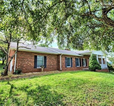 West Jefferson Single Family Home For Sale: 1195 Mount Jefferson Road