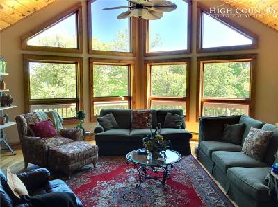 Sugar Mountain Single Family Home For Sale: 272 Craggy Pointe