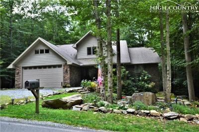 Beech Mountain Single Family Home For Sale: 535 Pinnacle Ridge Road