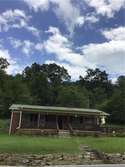Sugar Grove Single Family Home For Sale: 2725 Nc Highway 194 Highway