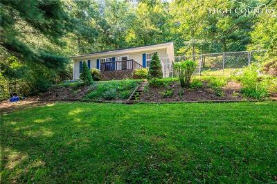 Boone NC Single Family Home For Sale: $195,000