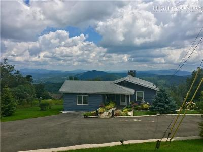 Blowing Rock Single Family Home For Sale: 1031 Alpine Drive