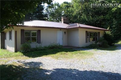 Boone NC Single Family Home Active Under Contract: $199,900