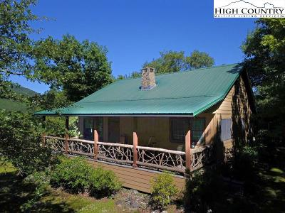 Blowing Rock Single Family Home For Sale: 170 Patsys Place