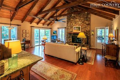 Blowing Rock Single Family Home For Sale: 6322 Crestview Drive