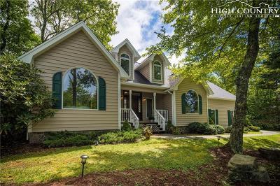 Watauga County Single Family Home For Sale: 367 Boone Coffey Trail