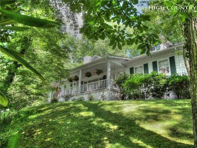 Boone NC Single Family Home For Sale: $500,000