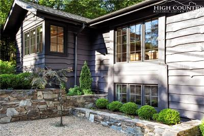 Blowing Rock Single Family Home For Sale: 285 Rankin Road