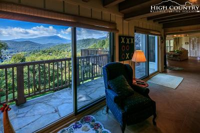 Boone NC Single Family Home For Sale: $495,000
