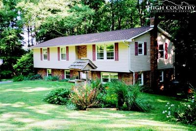 Boone NC Single Family Home For Sale: $259,000