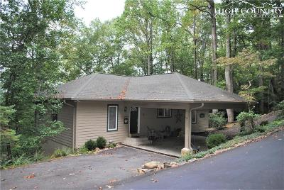 Boone NC Single Family Home For Sale: $279,500