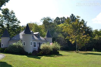 West Jefferson Single Family Home For Sale: 546 Earl Ray Road