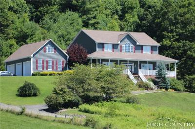 Ashe County Single Family Home For Sale: 2769 Water Tank Road