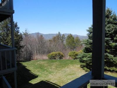 Alexander County, Caldwell County, Ashe County, Avery County, Watauga County, Burke County Condo/Townhouse For Sale: 367 Shelter Rock D6 #D6