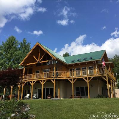 Ashe County Single Family Home For Sale: 101 Double Branch Road