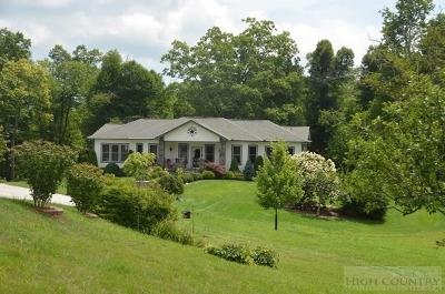 Newland Single Family Home For Sale: 8980 Nc Highway 181